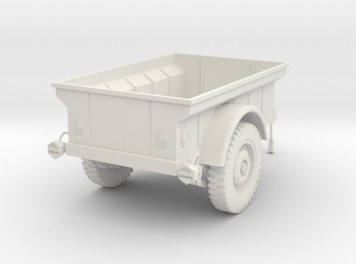 1:16 USA MBT Jeep Trailer v2 3d printed