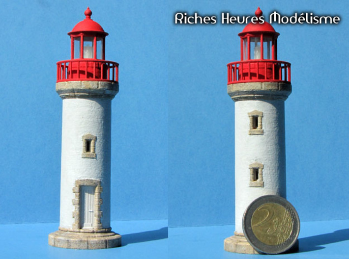 HOpb40 - Large brittany lighthouse 3d printed