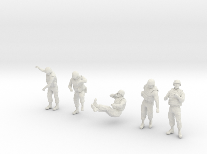 1/32 US Arty Crew Hot Weather Set6 3d printed
