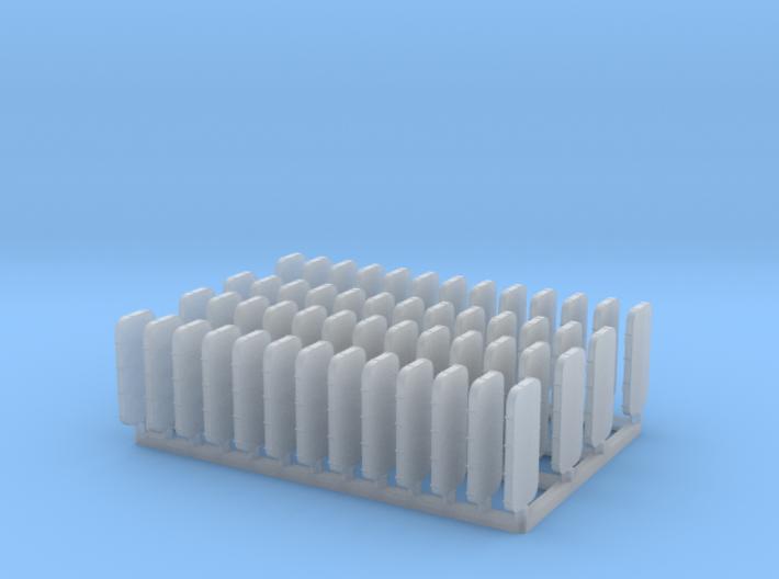 Watertight Doors Set 1/128 3d printed