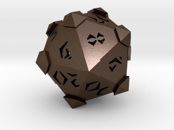 Prism D20 Closed 3d printed