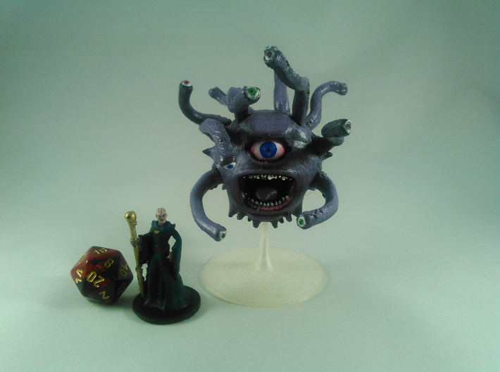 Beholder (updated) 3d printed