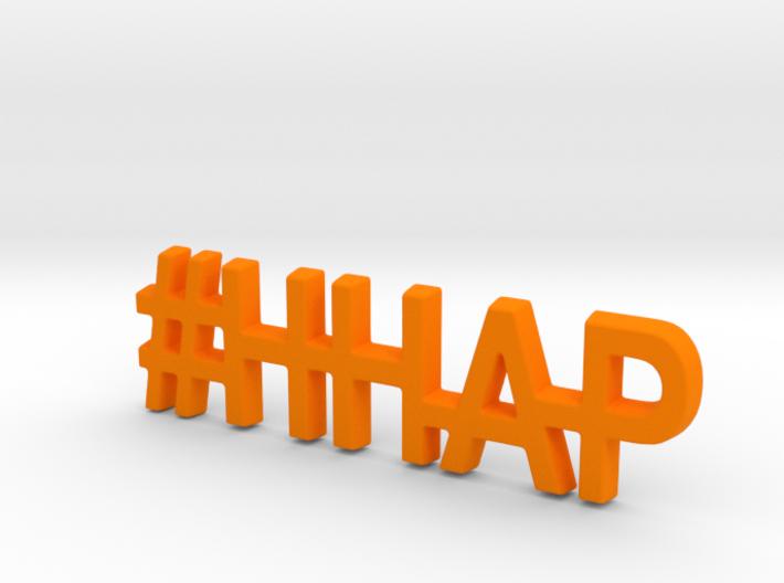 #HHAP Keychain 3d printed