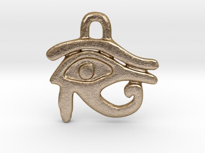 Eye of Ra Pendant 3d printed