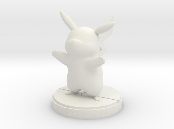 Pikachu figure 3d printed