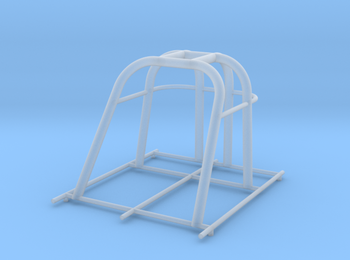 dragster cage 3d printed