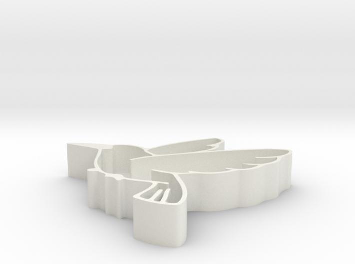 Bird shape fruit tray 3d printed