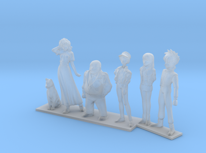 1/64 Sugo Team Characters 3d printed