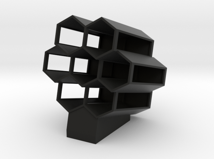 Hide In Honeycomb 3d printed