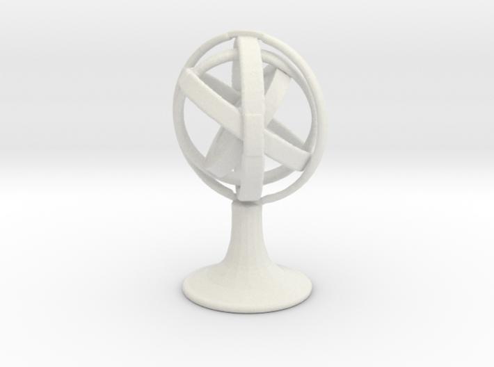 Printle Thing Gyroscope - 1/24 3d printed