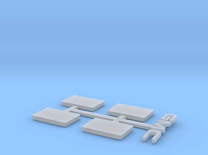 1982 GMC Grille For Tamiya Clodbuster (4/4) 3d printed