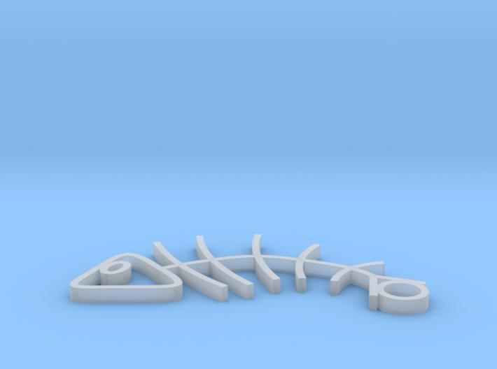 Fish Earrings 3d printed