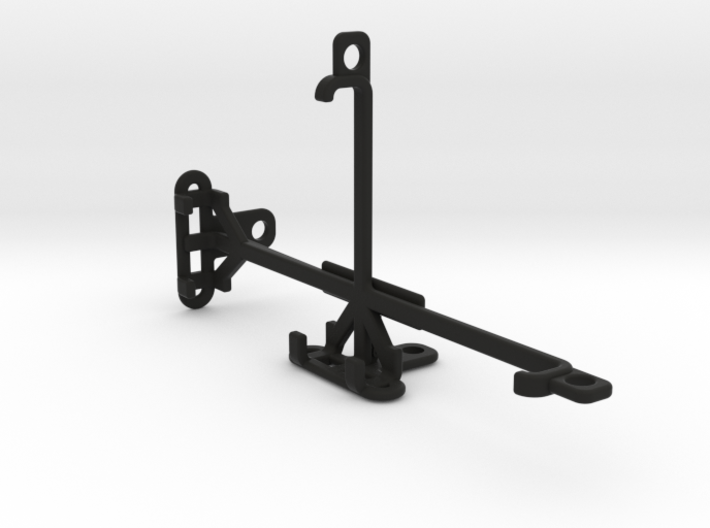 BLU R1 HD tripod & stabilizer mount 3d printed