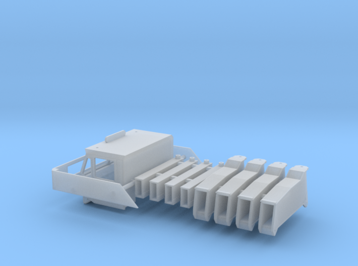 Amk200-83 1-87 Under Carrier Part 3d printed