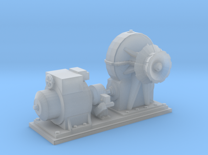 1/48 IJN Electric Deck Winch 3d printed