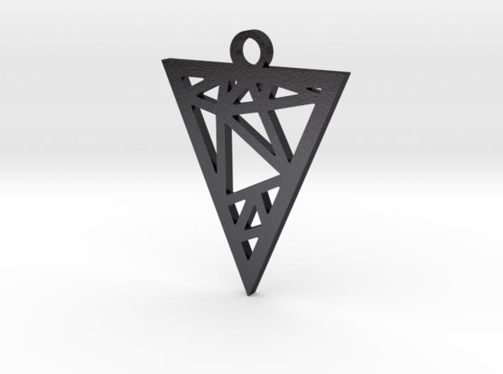 Drop Triangle Pendant 3d printed
