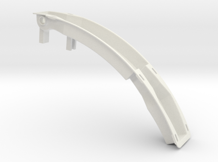 TM02 Utility Arm Backplate CSR 3d printed