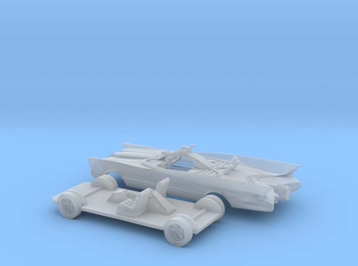 1/87 1966 TV Show Vehicle Kit without Canopy 3d printed