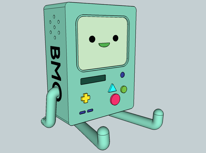 BMO Figure Small 3d printed BMO