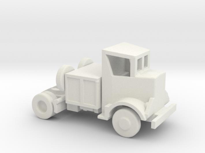 1/200 Scale Autocar Tractor U-8144T 3d printed