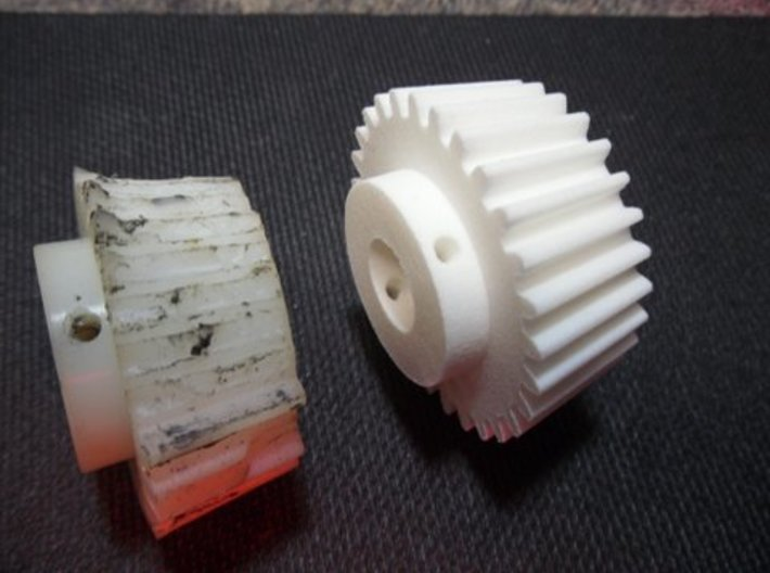 Sears/Craftsman Band Saw Bevel Gear - Part 341-299 3d printed Reverse engineered from an original part