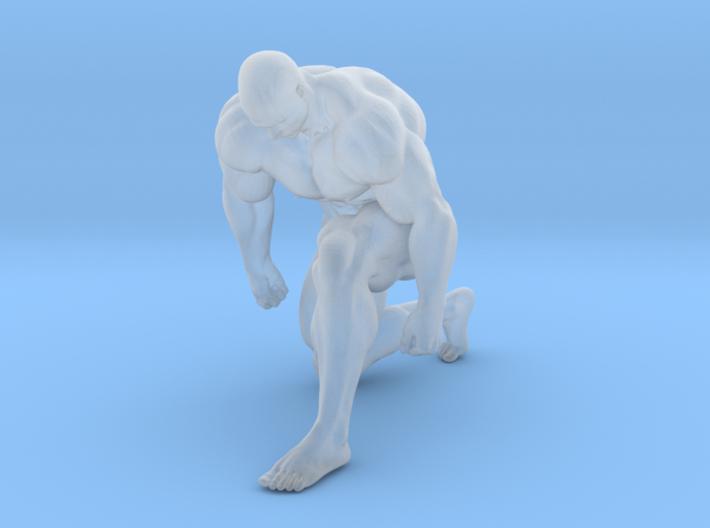 Mini Strong Man 1/64 038 3d printed