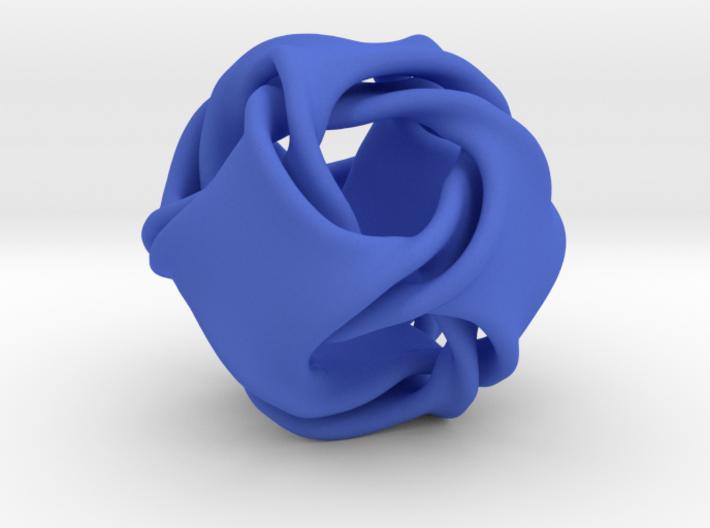 Octa-ducov (no holes) 3d printed