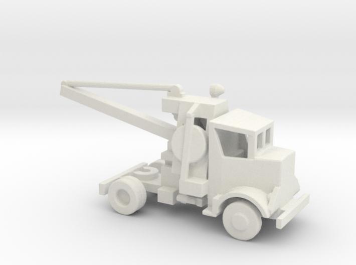 1/200 Scale Autocar 8244T 3 Crane 3d printed