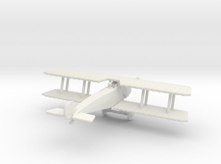 Fokker D.III 3d printed 1:144 Fokker D.III