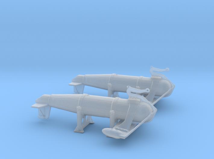 1/150 IJN Paravane V1 3d printed