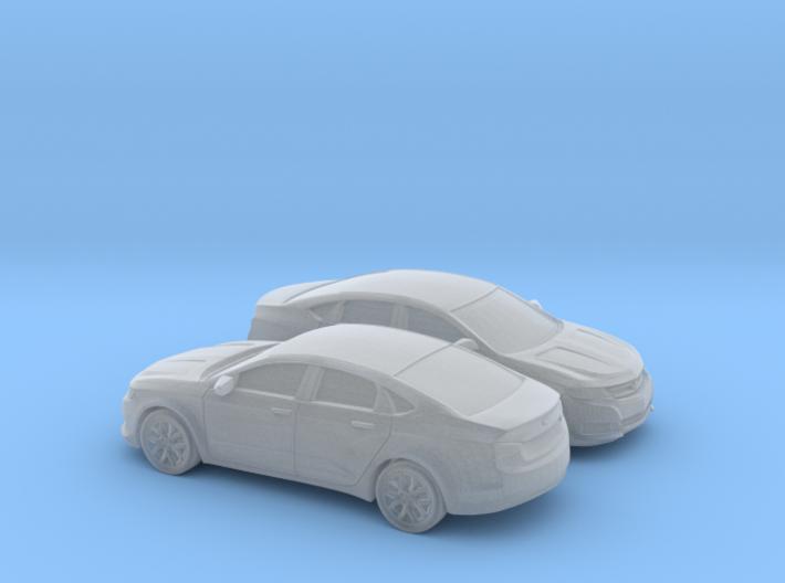 1/160 2X 2013-17 Chevrolet Impala Sedan 3d printed