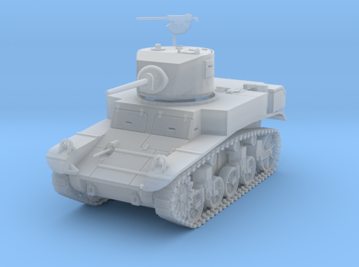 PV31C M3A1 Stuart Light Tank (1/87) 3d printed