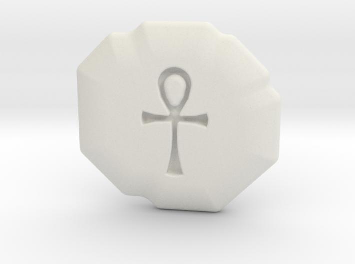 Spirituality Runestone 3d printed
