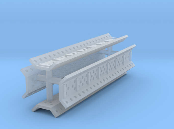 EQ23A Sand Channels (set of four) (1/87) 3d printed