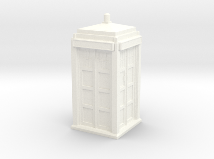 The Physician's Blue Box in 1/32 scale (Hollow) 3d printed