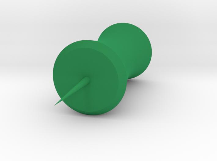 Bamboo Pushpin 3d printed