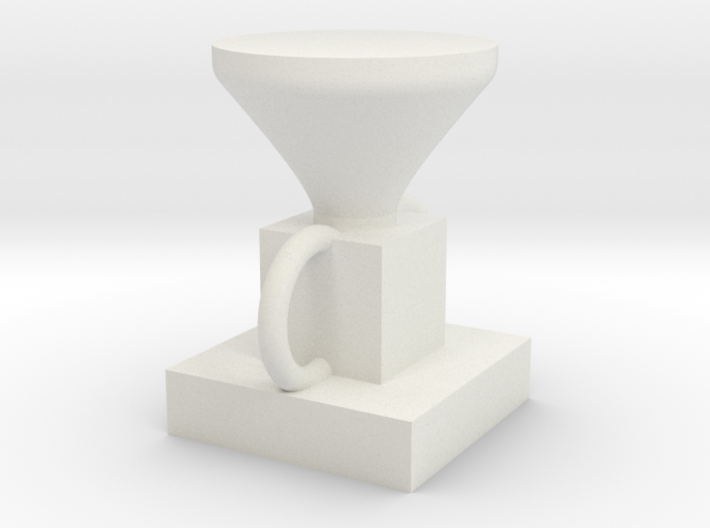 Home-made Olympic limited edition trophy 3d printed