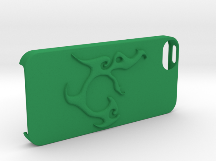 Iphone 5 Case Segunda Logo 3d printed