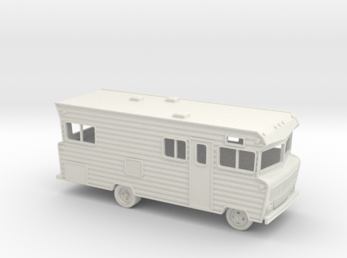 HO-Scale (1/87) Winnebago D-22 Indian 3d printed