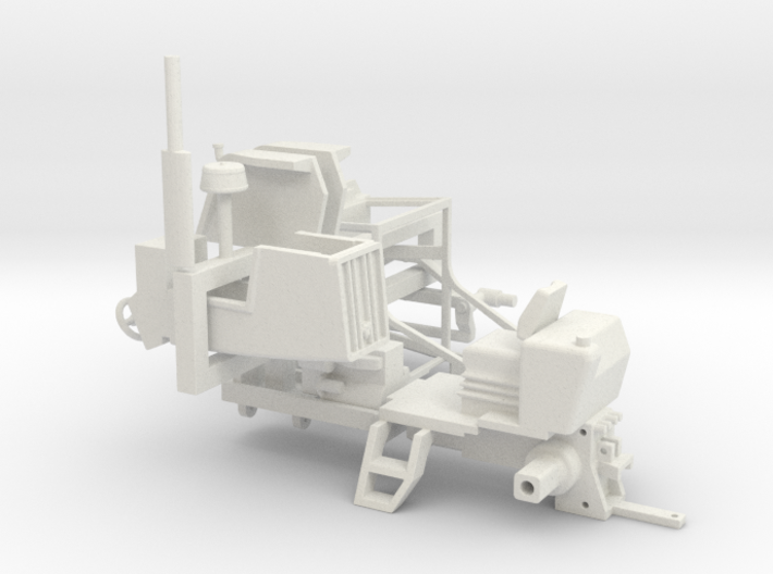 6000 series AC 1/64 Strong Flexible Plastic 3d printed
