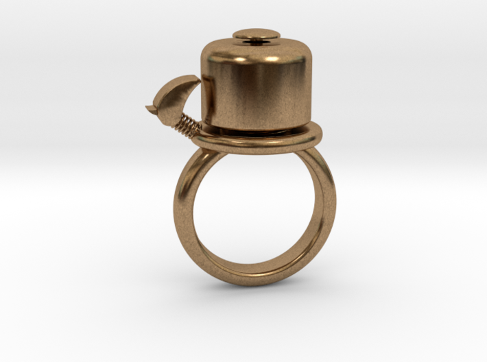BIKE BELL RING - SIZE 6 3d printed