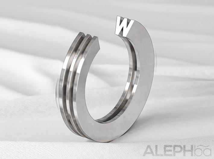 W Ring 3d printed