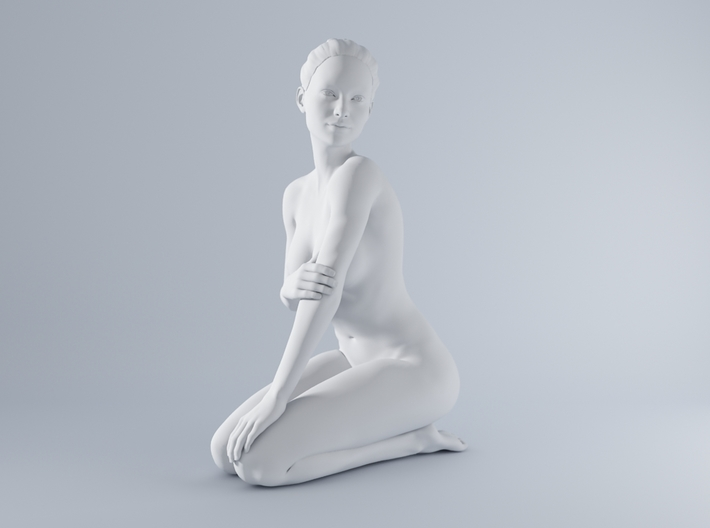 Mini Sexy Woman 001 1/64 3d printed