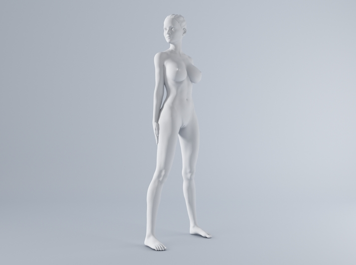 Mini Sexy Woman 011 1/64 3d printed