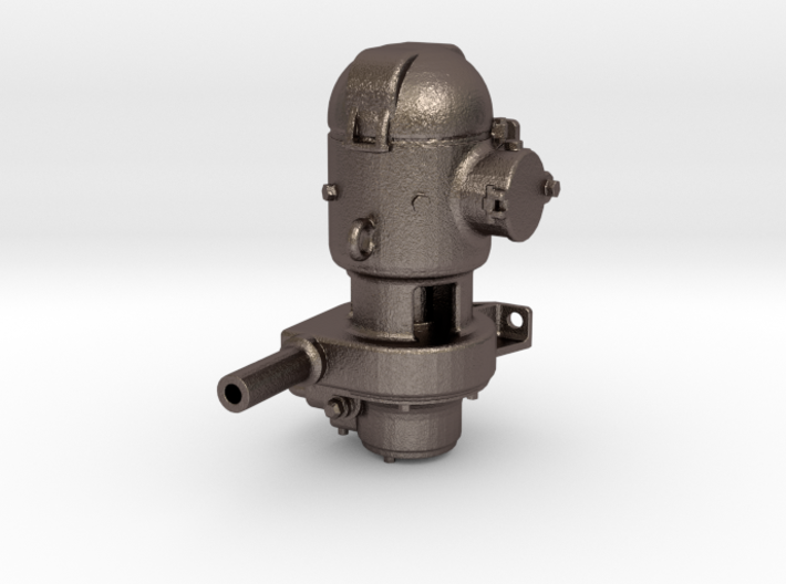 """1"""" Scale, 1:12 Mosley Generator Live Steam 3d printed"""