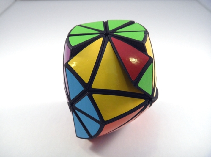 Tetracopter 12XD Puzzle 3d printed 90 Degree + 120 Turns