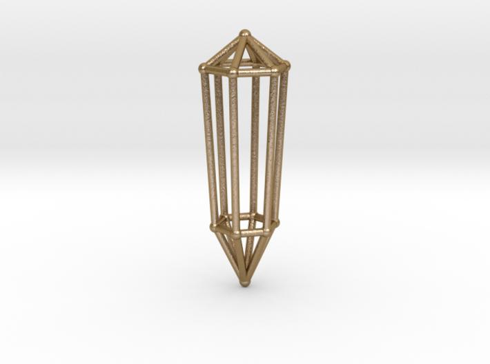 Phi Vogel Crystal - 6 sided 3d printed