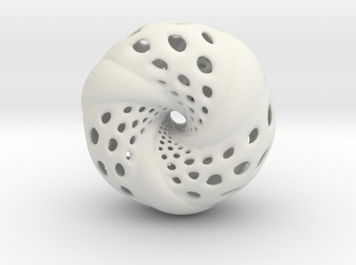Tetrahedron Hopf preimage (edges & corners) 3d printed