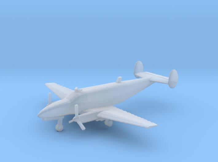 1:400 Beechcraft 18 Volpar Turboliner 3d printed