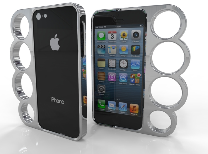 3d iphone 5s cases 4 finger iphone 5 ukrmpber8 by chrisv 3127